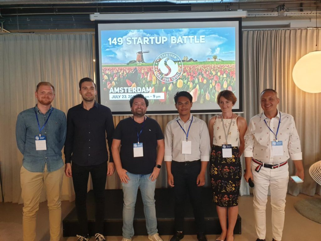 Another podium place for Syntho at the 149th Startup Battle in Amsterdam! 4