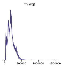 Synthetic Data FNLWGT