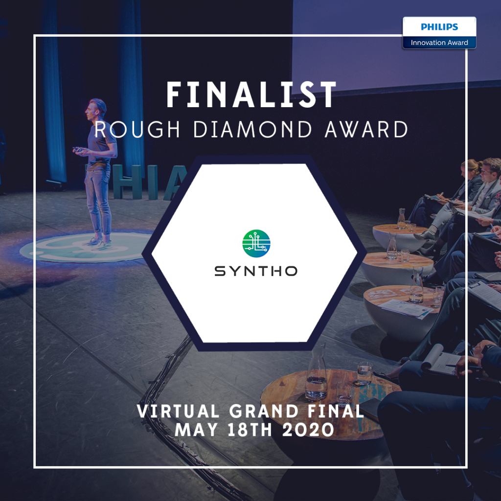 Syntho is finalist in the Philips Innovation Award 2020! 1
