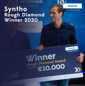 Syntho - Synthetic Data - winner of the Philips Innovation Award 2020
