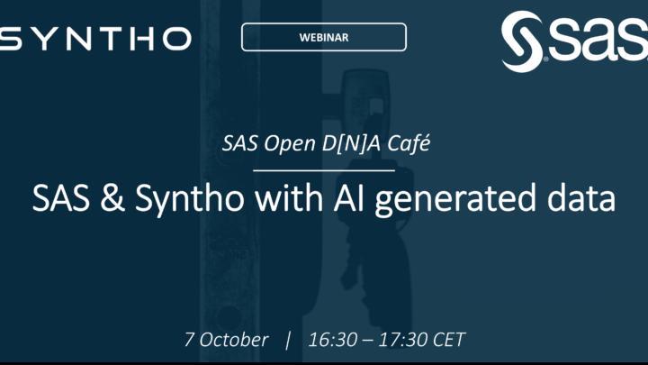 SAS Syntho AI generated Synthetic data